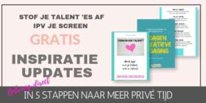 Opt-in CreativiTijd Ritueel