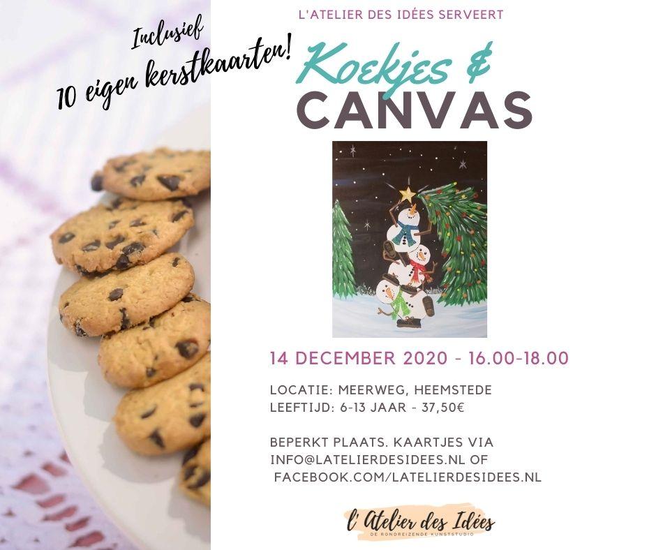 Koekjes & Canvas 141220